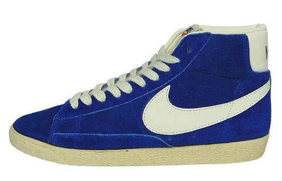 Nike Blazer Høy Semsket Vintage Varsity Røde 2s 5VYdjclTJi