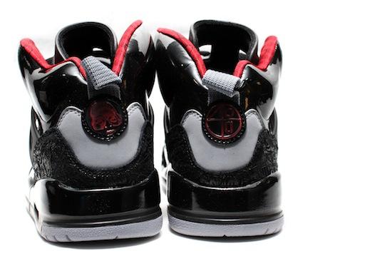 online store 88fb9 ab8dd Air Jordan Spizike – Black ,Varsity Red ,Stealth
