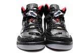 reputable site 25176 e86a9 ... Stealth – Varsity Red. They feature a predominantly black upper  constructed from patent leather, along with the Air Jordan 20 (XX) print on  the toe and ...